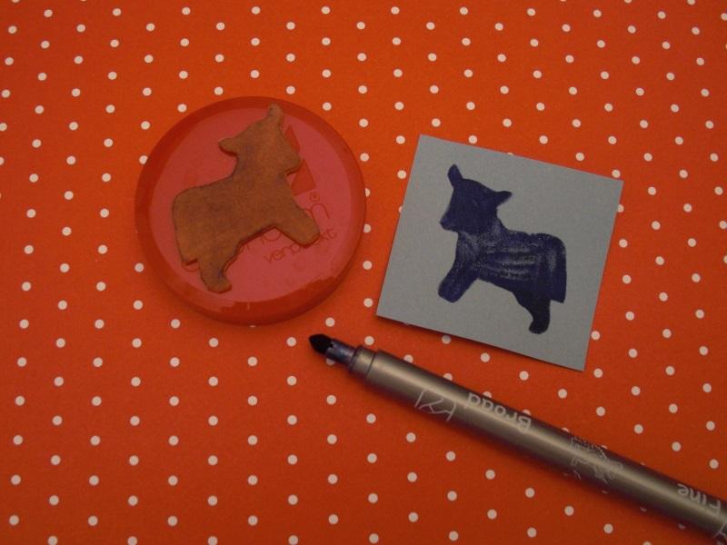 Filzstift Kuh © Karolin Buckl | www.karolin-buckl.de