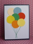 Balloons Karte 1